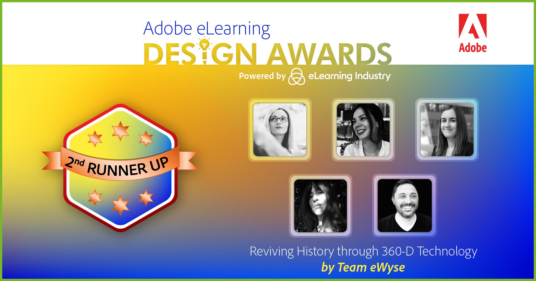 eWyse Adobe elearning award team photo
