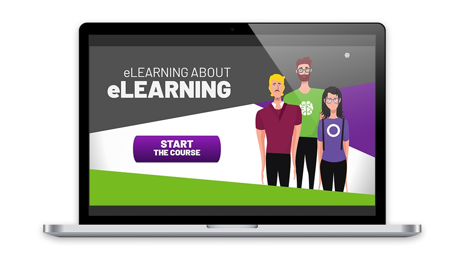 eWyse course mockup: eLearning about eLearning