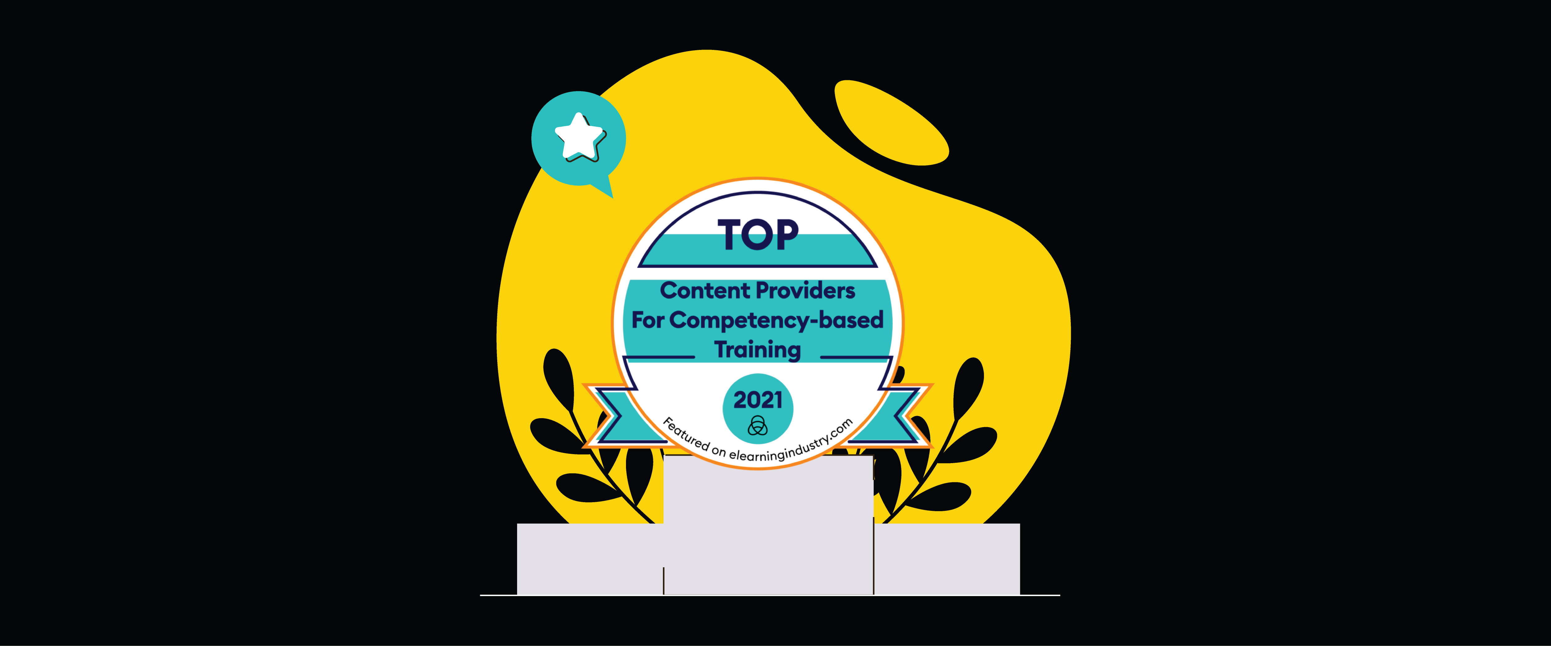 eWyse award badge: Top Provider fot Competency-Based Learning 2021